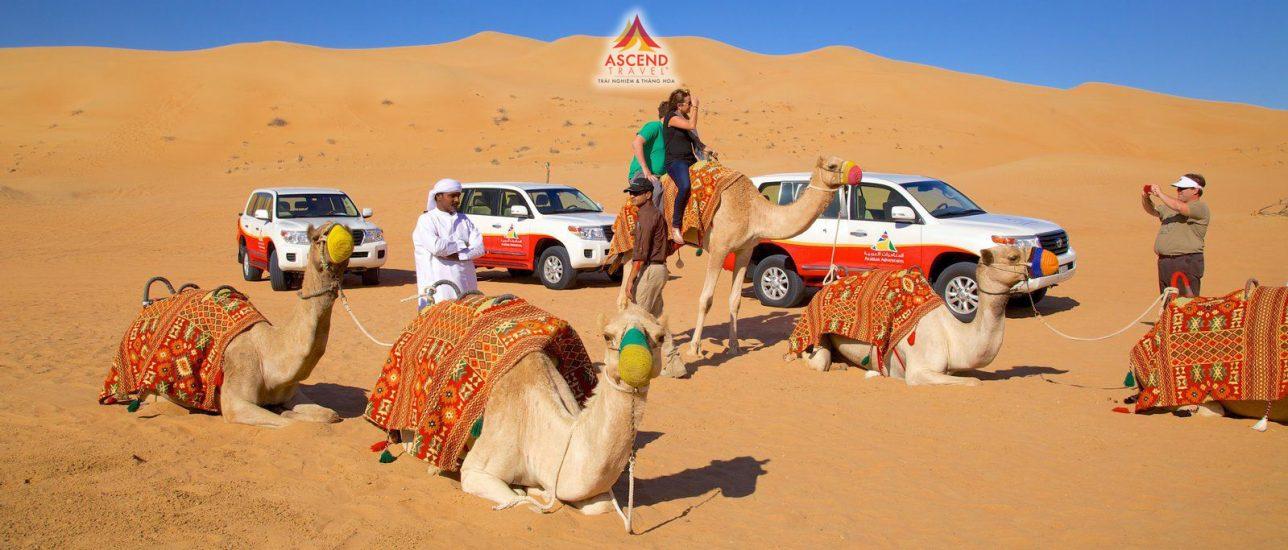 Trải nghiệm xa mạc thú vị tại Dubai