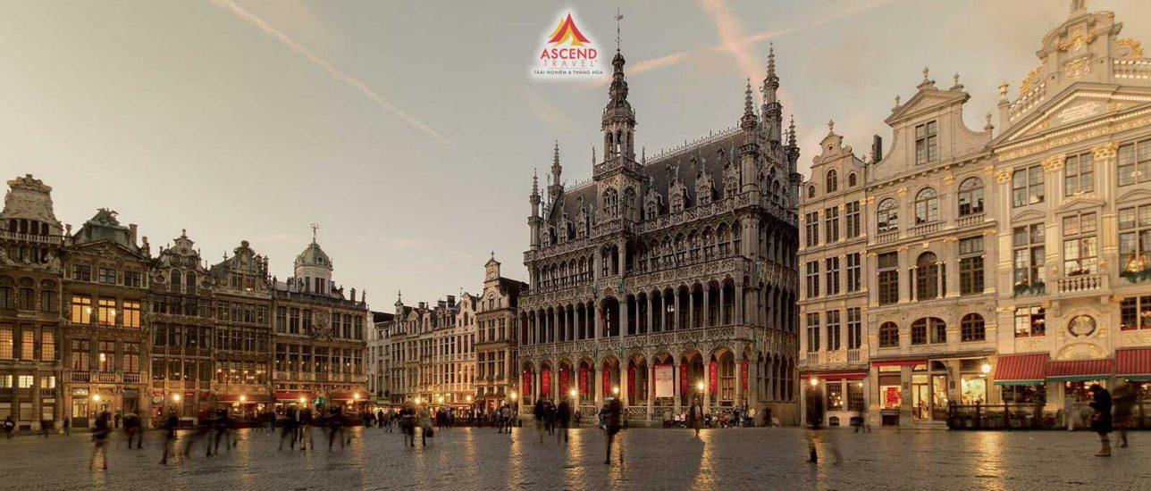 Du lịch 4 nước Châu Âu Pháp - Bỉ - Hà Lan - Đức