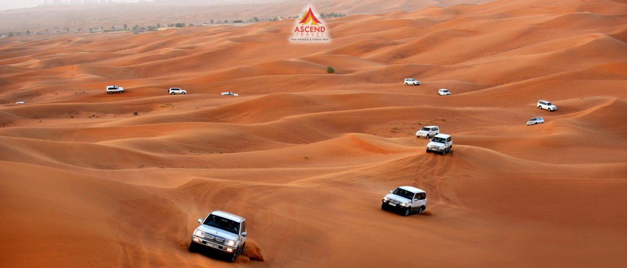 Chuyến xe bão táp trên Abu Dhabi