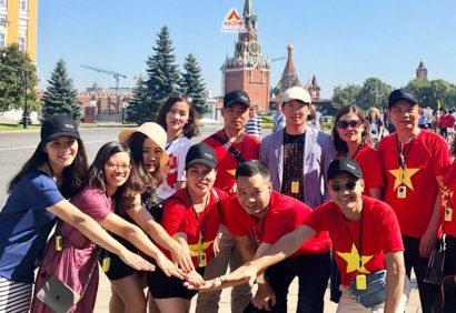 Vision tổ chức sự kiện Millenium tại Nga 2018