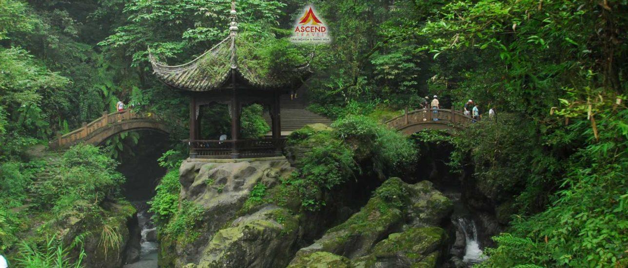 Trùng Khánh - Nga My Sơn - Lạc Đại Phật Sơn tourmap 4