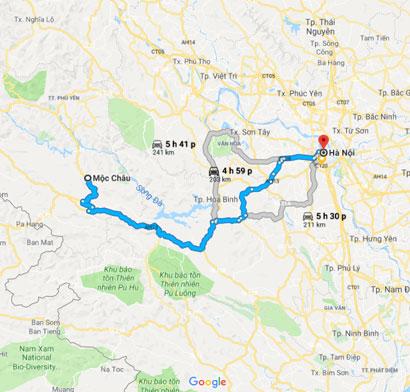 Du lịch Mai Châu Mộc Châu