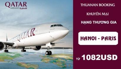 Siêu khuyến mại hạng Thương gia từ Qatar Airways